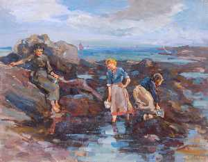 William Henry Charlton - Леди по Rockpool