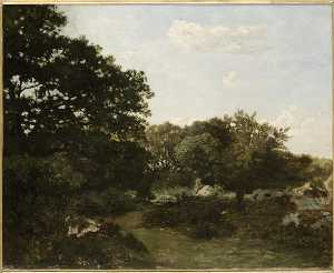 Jean Frederic Bazille - Форе де  Фонтенбло