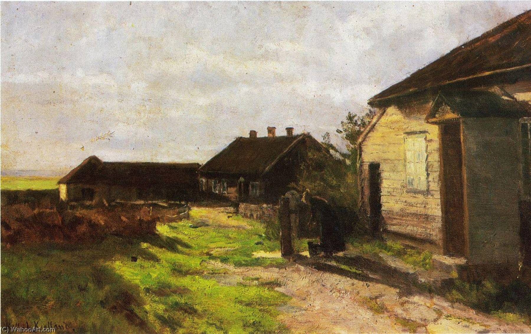 Усадьба в квалбейне, 1904 по Kitty Kielland
