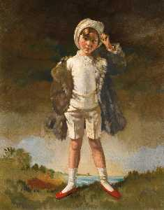 William Newenham Montague Orpen - Нол Сын Оливер Св . Джон Gogarty