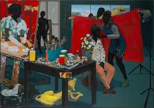 Kerry James Marshall - без названия студии