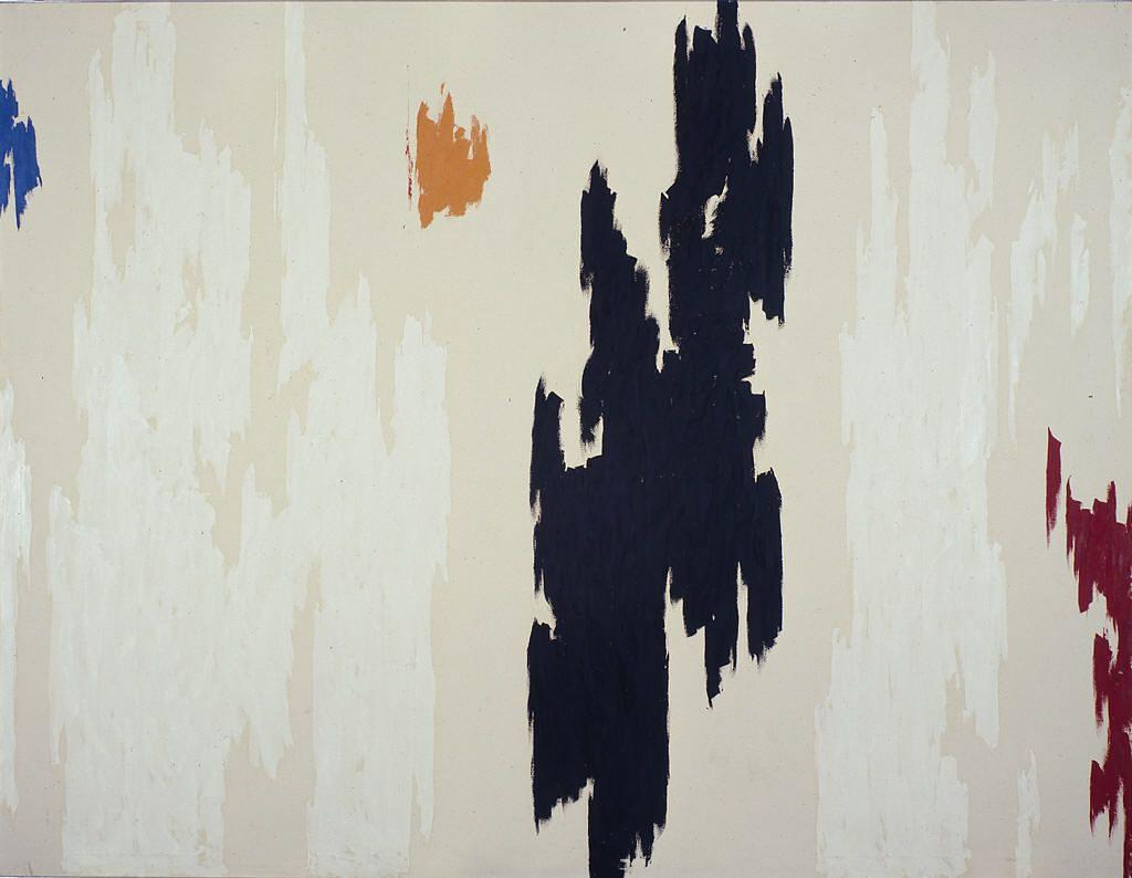 1962 D, холст, масло по Clyfford Still (1904-1980, United States)