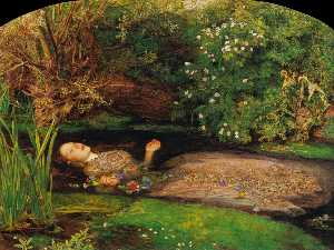 John Everett Millais - Офелия